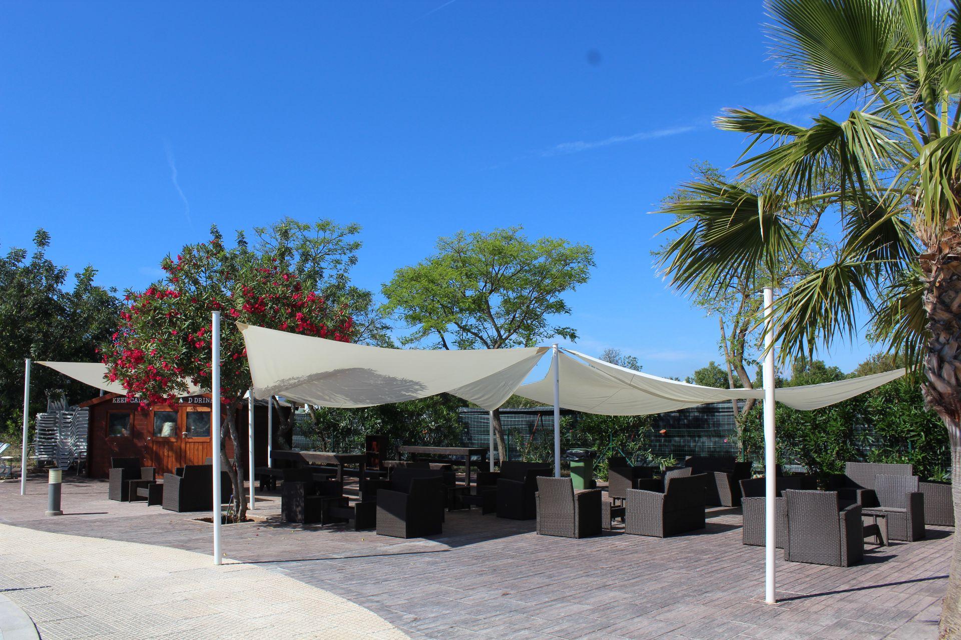 pool lounge camping ria formosa