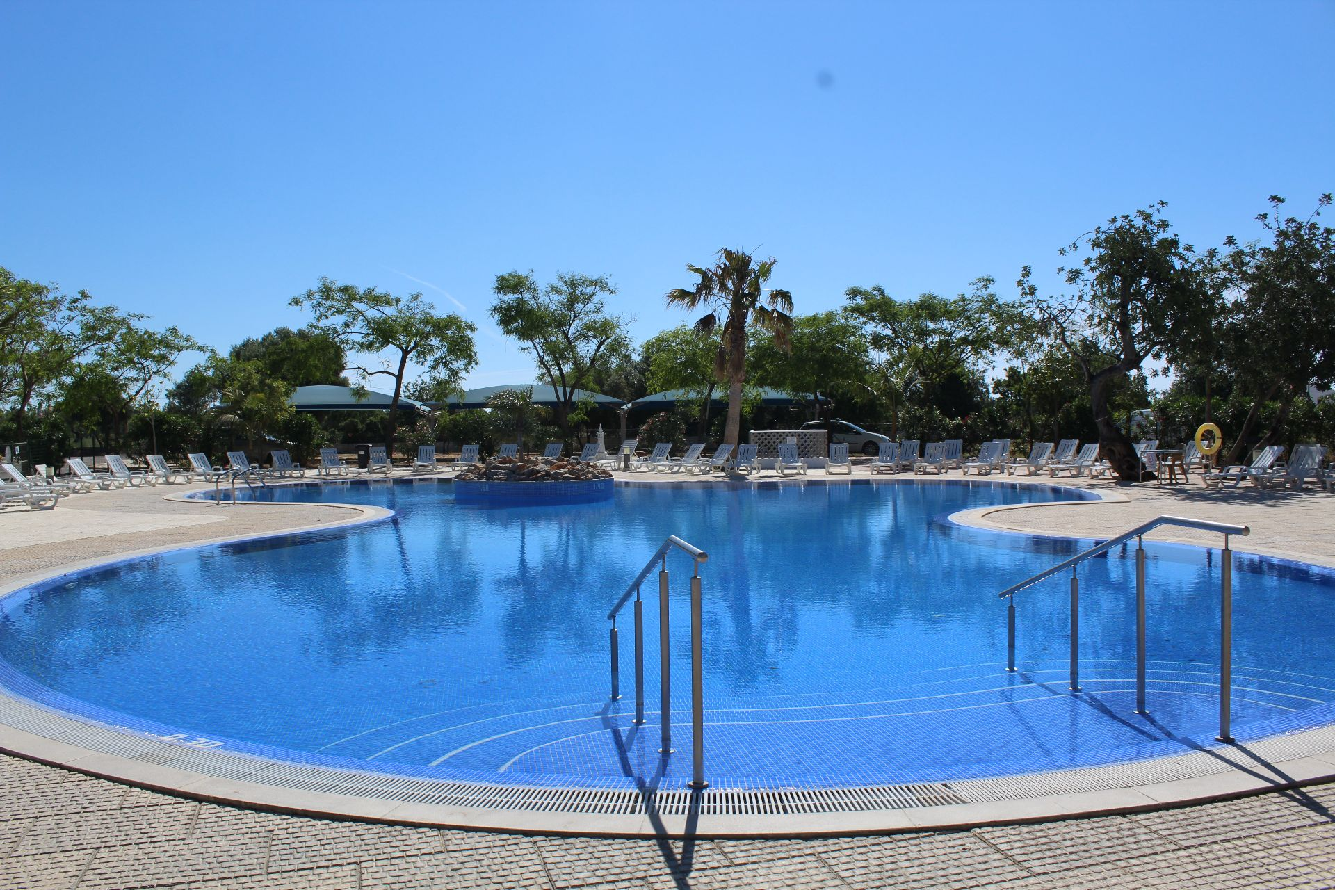 pool camping ria formosa